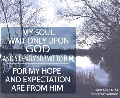 Psalm 62 v 5