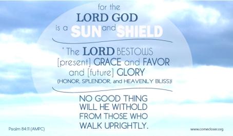 Psalm 84 v 11