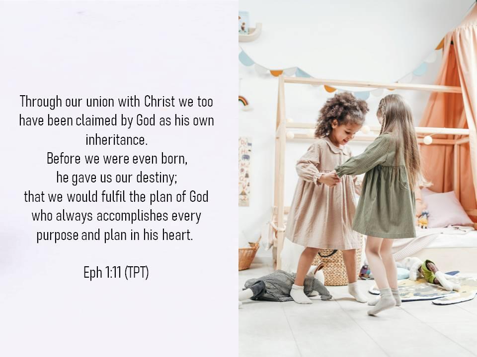 eph 1 v 11